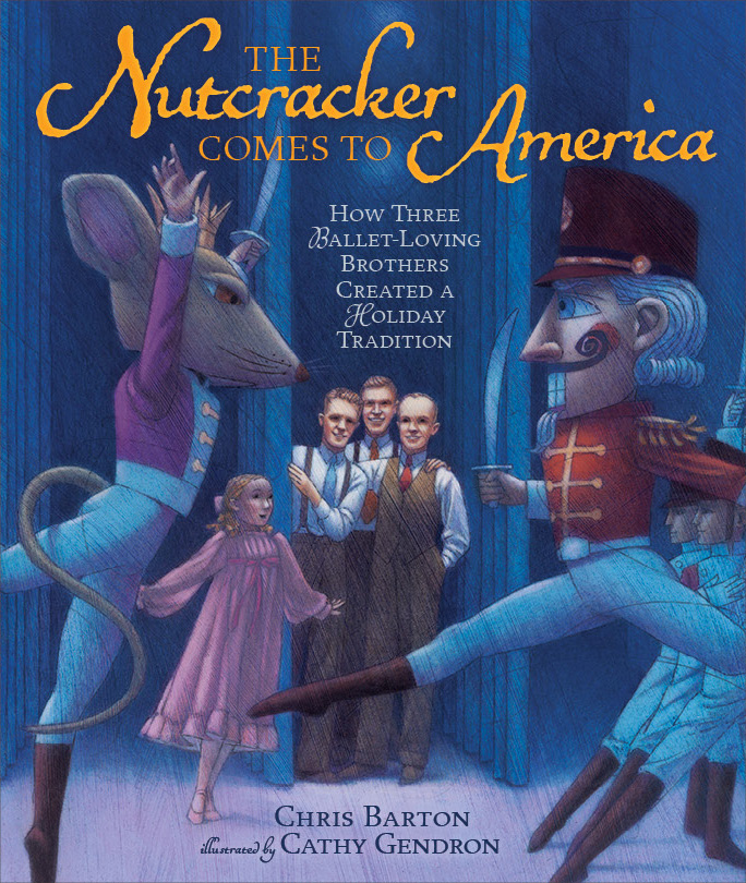 My readaloud video for The Nutcracker Comes to America