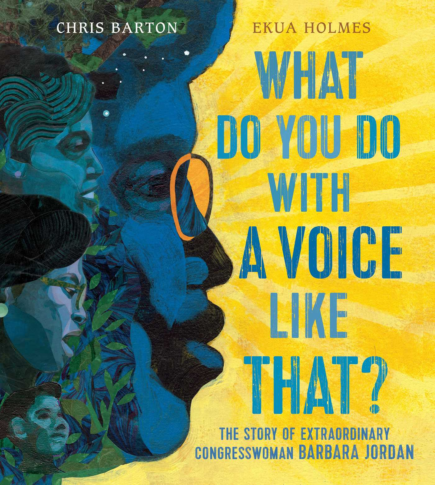 Book trailer and educator's guide for What Do You Do with a Voice Like That?