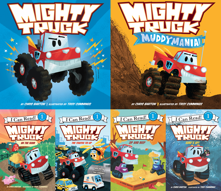 Ask me anything about the Mighty Truck books