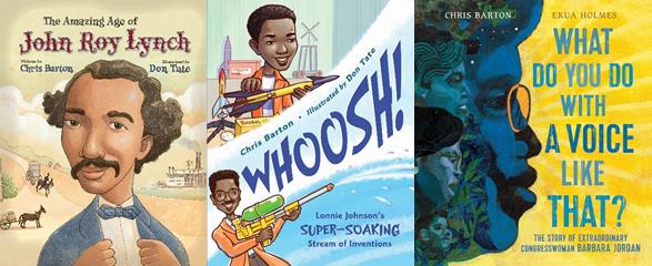 Barbara Jordan, Lonnie Johnson, and John Roy Lynch in anti-racist reading