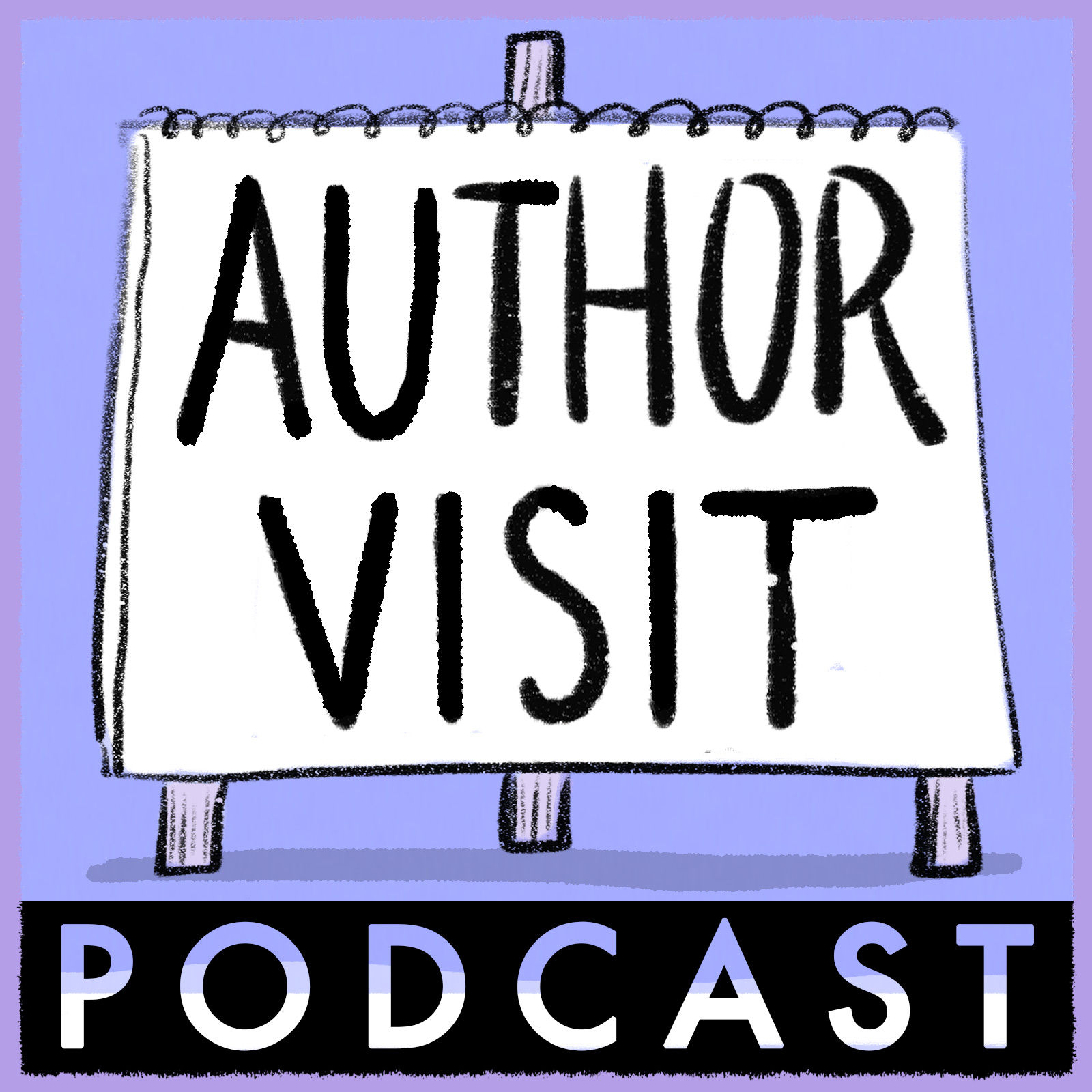 Listen to Jennifer and me on the Author Visit Podcast!