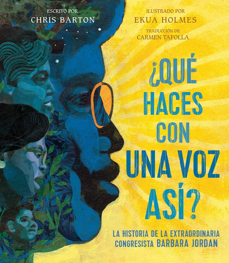 The Spanish edition of my Barbara Jordan picture book biography is here!