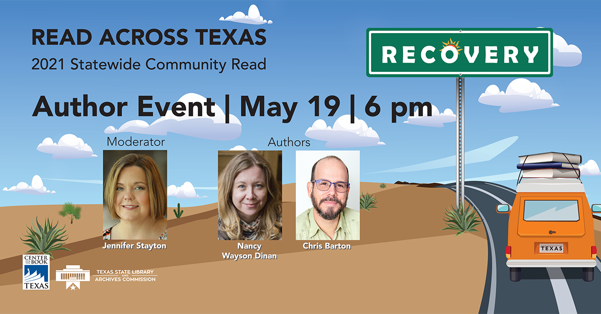 Registration and free ebooks for Read Across Texas author event on May 19