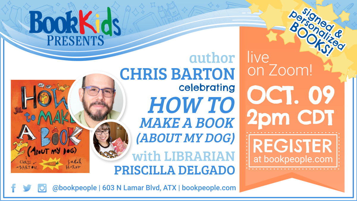 Join me & celebrate How to Make a Book (About My Dog) this Saturday!